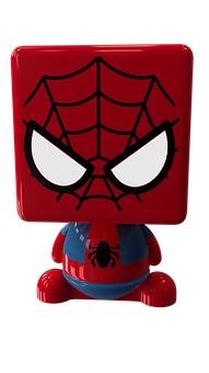 Spiderman, Toy, Superhero, Marvel, Toys, Comic, Red