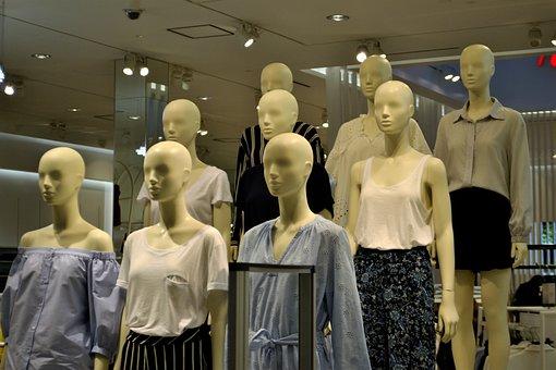 Mannequin, Model, Display, Figure, Store, Women's