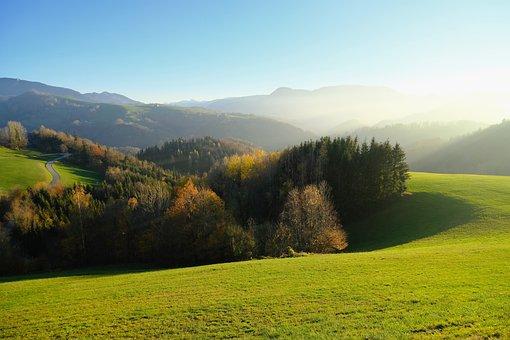 Nature, Landscape, Autumn, Autumn Landscape, Fog