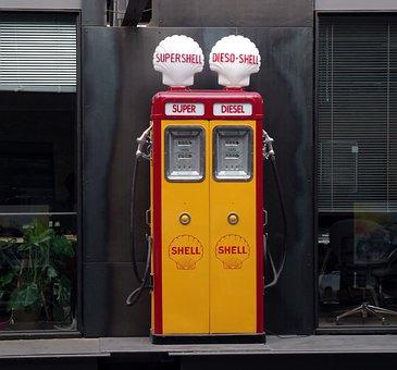 Gas Pump, Petrol, Petrol Stations, Refuel, Fuel, Gas