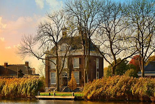 House, Manor, Architecture, Building, Old