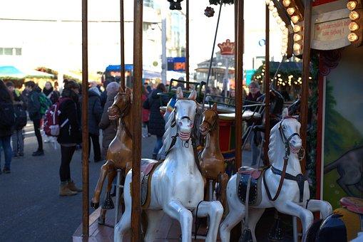 Carousel, Christmas Market, Kassel, Advent