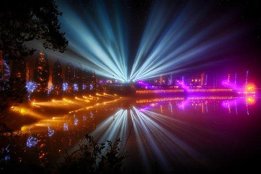 Festival, Celebration, Concert, Party, Lighting, Light