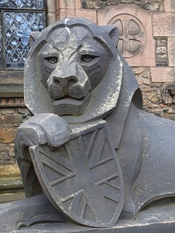 Lion, Scotland, Edinburgh, Coat Of Arms