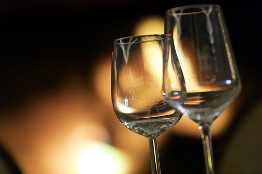 Drink, Wine, Romantic, Restaurant, Liquid, Glass, Bar