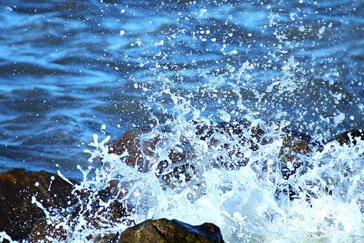 Mar, Wave, Water, Beach, Nature, Costa, Foam, Blue
