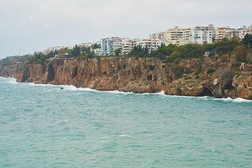 Antalya, Turkey, Kaleici, Port, Marina, Marine, Storm