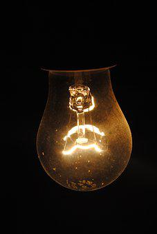 Lamp, Light, Darkness, Mood, Mystic, Night, Strange
