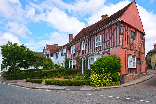England, House, Crooked House, Outside, Building