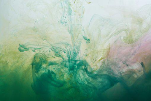Abstract, Ink, Water, Paint, Watercolor, Art, Design