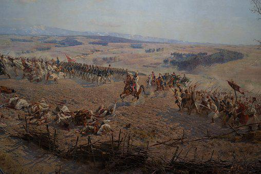 Kościuszko, Panorama Of Racławice, Art, Painting