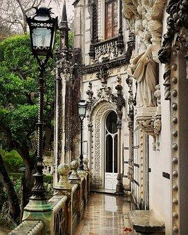 Palace, Portugal, Sintra, Quinta Da Regaleira