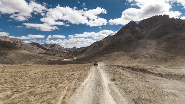 Ladakh, Himalayas, Roads
