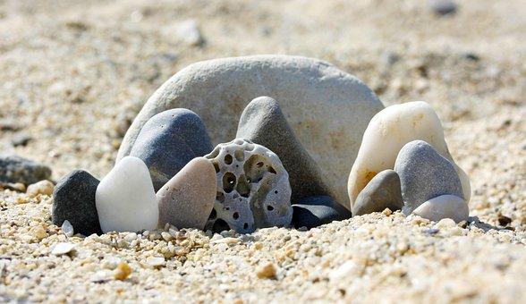 Sand, Stones, Nature