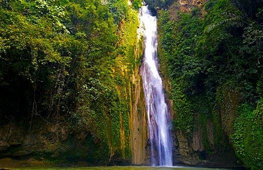 Falls, Outdoors, Nature, Scenic, Fall, Landscape