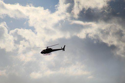 Helicopter, Sky, Flight, Air, Aviation, Fly, Clouds
