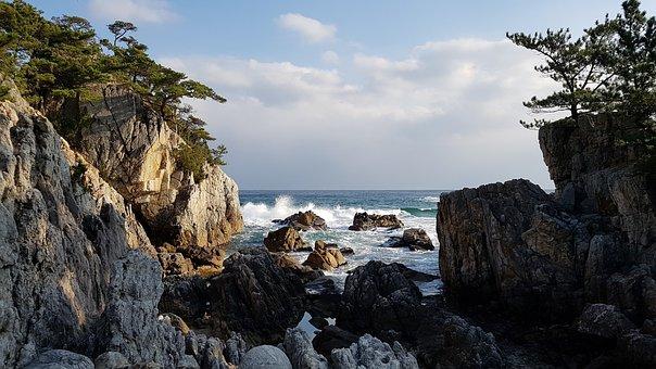 Sea, Beach, Water, Summer, Sky, Nature, Cloud, Coastal
