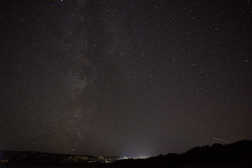 Milky Way, Stars, Galaxy, Space, Night, Universe, Sky