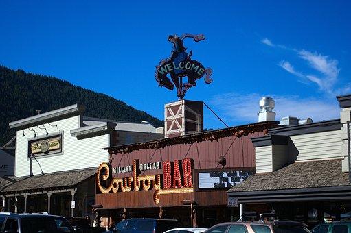 Jackson Hole Store Fronts, Wyoming, Stores, Jackson