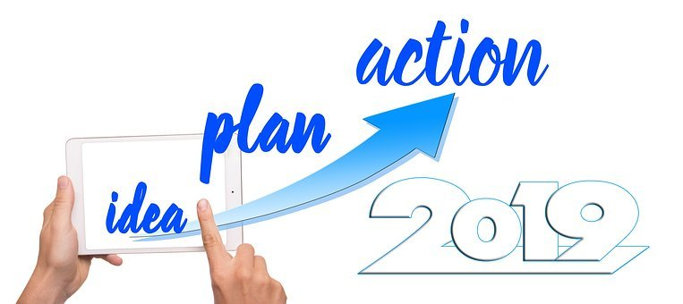 Idea, Plan, New Year's Day, Year, Action, Success
