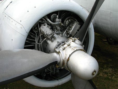 Plane, Engine, Aircraft, Technique, Machine, Turbine