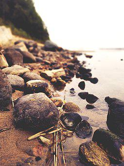 The Stones, Beach, Water