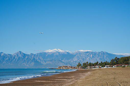 Antalya, Turkey, Lara, Marine, Water, Beach, Tourism