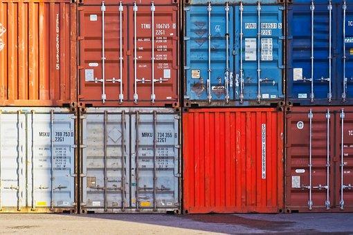 Container, Container Port, Port, Cargo, Transport