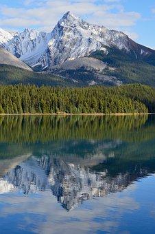 Canada, National Park, Jasper, Landscape, Water