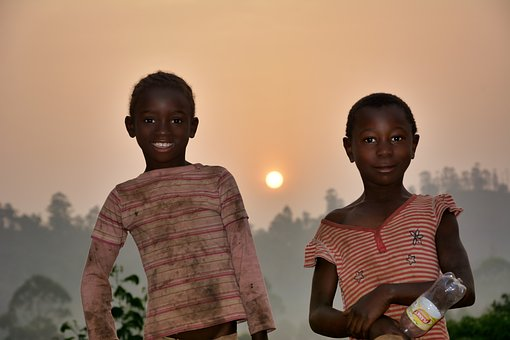 Young, Child, Africa, Cameroon, Portrait, People, Girls