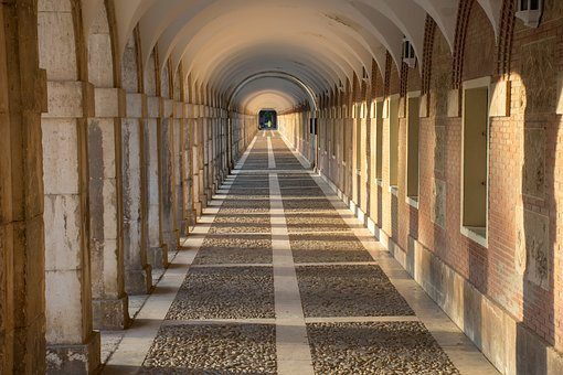 Depth, Perspective, Arches, Architecture, Background