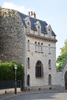 House, Self, Nice, Street, City, Architecture, Paris