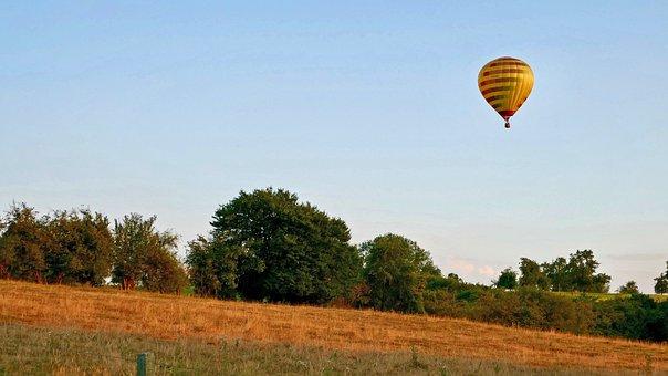 Hot-air Ballooning, Hot Air Balloon, Ball, Balloon