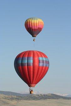 Aviation, Balloon, Floating