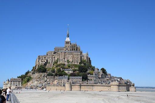 Mont-saint-michel, Couesnon, Brittany, Normandie