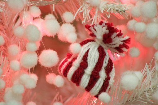 Christmas Background, Christmas Tree, Cap, Decoration