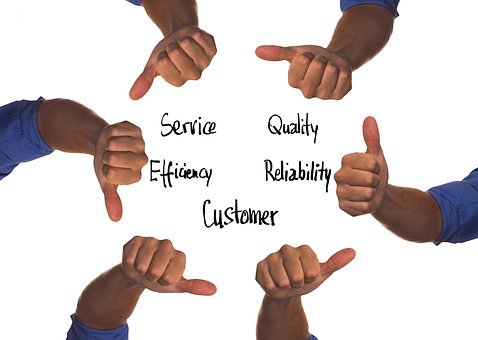 Customer, Like, Thumb, High, Down, Positive, Negative