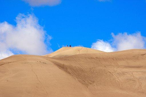 Colorado Dunes, Great, Sand, Dunes, National, Park