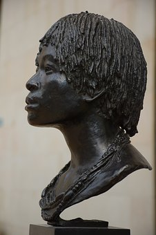 Statue, Head, Orsay, Paris, France, Graphics, Facial