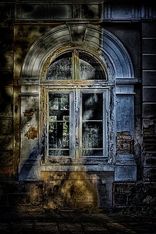 Wallpaper, Background, Window, House, Horror Movie, Hdr