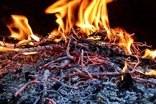 Fire, Flame, Wood, Aesthetic, Burn, Heat, Hot