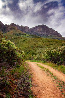 Mountain, Hiking, Trail, Path, Nature, Landscape