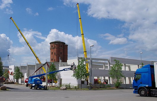 Site, Industrial Hall, Warehouse, Building