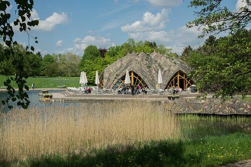 Restaurant, Summer, Beer Garden, Lake, Water, Terrace