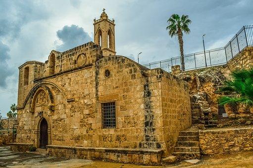 Cyprus, Ayia Napa, Monastery, Medieval, Church
