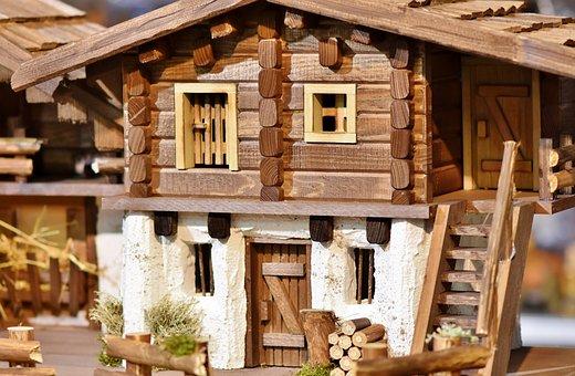 House, Model, Decoration, Deco, Farmhouse, Farm