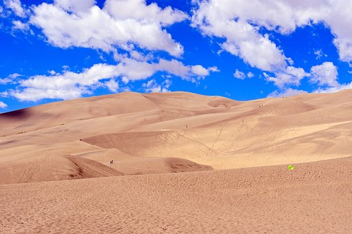 Colorado Sand Dunes, Great, Sand, Dunes, National, Park