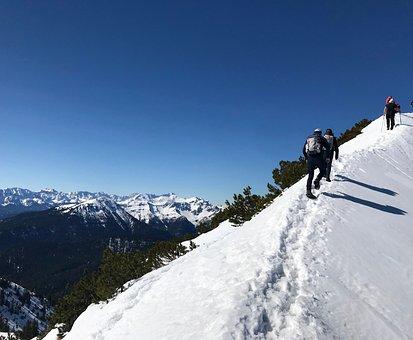 Winter, Snow, Ridge, Mountains, Alpine, Nature, Cold
