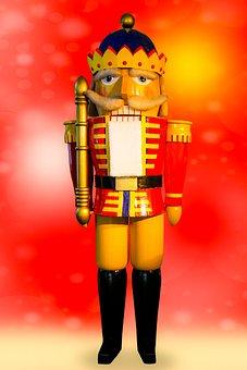 Christmas, Craft, Nutcracker, Figure, Holzfigur