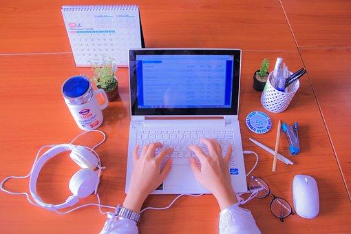 Computer, Work, Office, Laptop, Business, Author, Blog